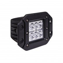 "5"" 18W Cube Flush-Mount LED Light - Spot"