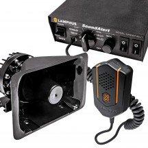 SoundAlert SASN01 Rev.1 S 100W Siren + SASP01 100W 120-130dB Speaker