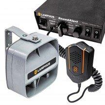 SoundAlert SASN01 Rev.1 S 100W Siren + SASP04 100W 120-130dB Slim Speaker