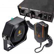 SoundAlert SASN01 Rev.1 S 100W Siren + SASP05 100W 118-124dB Slim Speaker