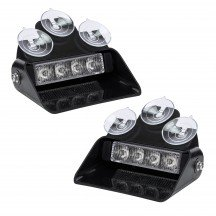 "2pc SolarBlast 6"" 4W Dash Light"