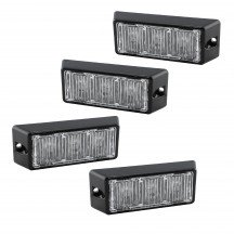 "4pc SolarBlast 4"" 3W Light Head"