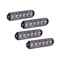 "4pc PlanarFlash 5"" 6W Light Head"
