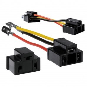 "2pc 5"" H4 Socket Converter Kit"