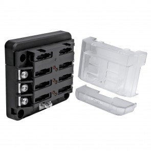 6-Way 100A M4 Modular LED Indicator ATC/ATO Blade Fuse Box