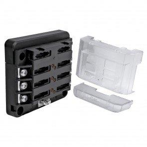 6-Way 100A M4 Modular LED Indicator ATC/ATO Blade Fuse Box