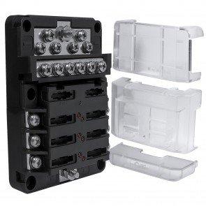 PWR0031 6-Way Positive + PWR0032 12-Way Ground M4 Modular Fuse Box