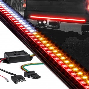 TBL6176 Tailgate Light Bar + ACP6001 4-Pin Module Adapter For Trucks w/ Tow Package & BLIS