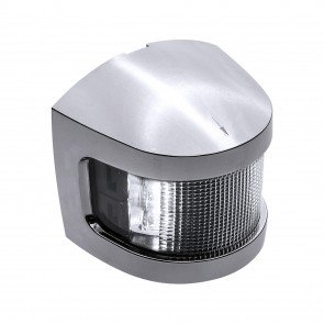 Chrome Plated Side-Mount Marine Navigation Masthead Lamp