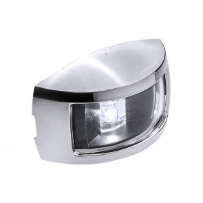 Chrome Plated Side-Mount Marine Navigation Stern Lamp