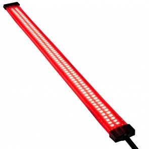 "13"" 132 LED Double Row Marine Navigation Light Strip - Red"