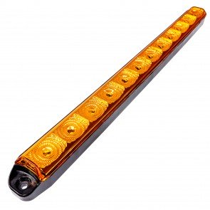 "16"" 12-LED Sequential Turn Signal Indicator Running Light Bar"