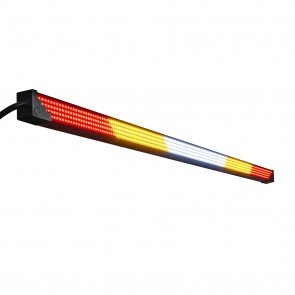 "28"" (RED) TBT + (AMBER) Strobe + (White) Scanner/Reverse/Auxiliary LED Chase Light Bar"