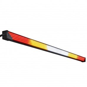 "35"" (RED) TBT + (AMBER) Strobe + (White) Scanner/Reverse/Auxiliary LED Chase Light Bar"