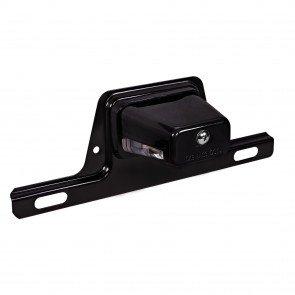 Bracket-Mount License Plate Light - Black