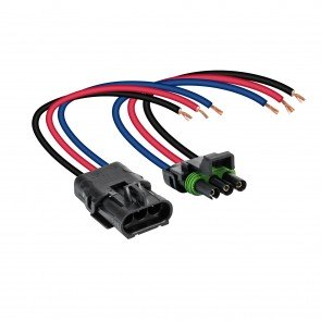"""3-Way 12 AWG 10"""" Wire Weather Pack Connector"""