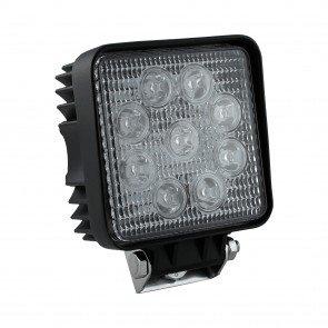 """4.25"""" 27W LED Square Work Light - Spot"""