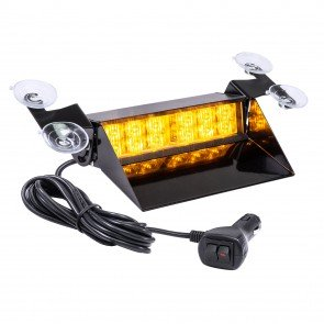 "SolarBlast 8"" 12W Dash Light - Amber"