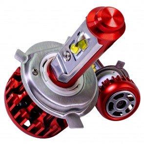 DuskFire R-Series 80W 7,600 Lumens CREE LED Headlight Bulb Kit - H4 (9003, HB2)