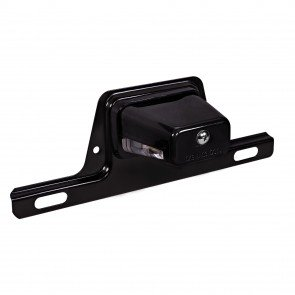 Bracket-Mount License Plate Light - Black