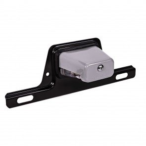 Bracket-Mount License Plate Light - Gray