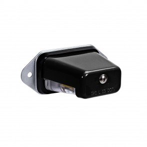 Surface-Mount License Plate Light - Black