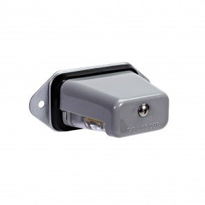 Surface-Mount License Plate Light - Gray