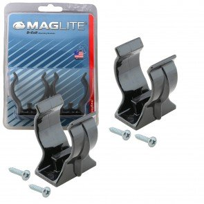 Flashlight Mounting Bracket for Maglite D Cell MAG009, MAG010