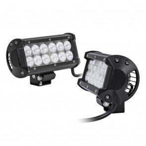 "2pc LAMPHUS CRUIZER CRLB12 6.5"" 36W Off Road LED Light Bar"