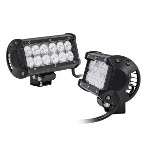 "2pc LAMPHUS CRUIZER CRLB12 6.5"" 36W Off Road LED Light Bar"