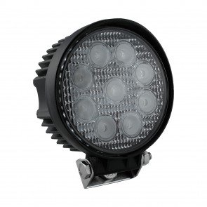 "4.5"" 27W LED Round Work Light - Flood"