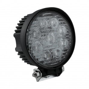 "4.5"" 27W LED Round Work Light - Spot"