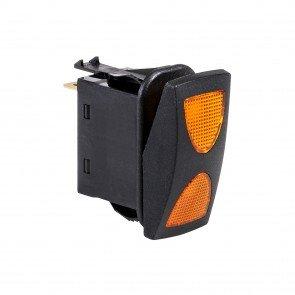 14V DC 20A 4-Pin LED SPDT ON-OFF-ON Rocker Switch
