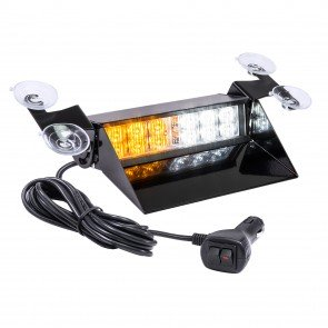 "SolarBlast 8"" 12W Dash Light - Amber / White"