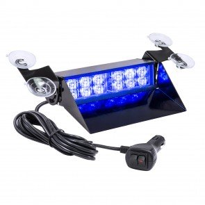 "SolarBlast 8"" 12W Dash Light - Blue"