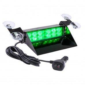 "SolarBlast 8"" 12W Dash Light - Green"
