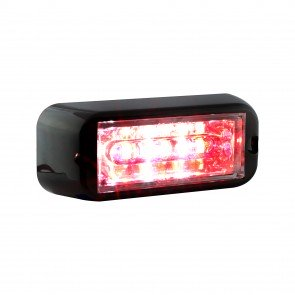 """CosmicRay 4"""" 6W Light Head - Red / White"""