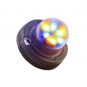 SnakeEye-II 6W Hideaway Light - Amber / Blue