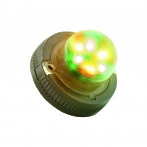 SnakeEye-II 6W Hideaway Light - Amber / Green