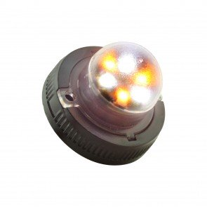 SnakeEye-II 6W Hideaway Light - Amber / White