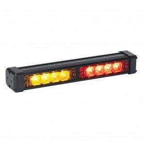 "SolarBlast 11"" 8W Deck Light - Amber / Red"