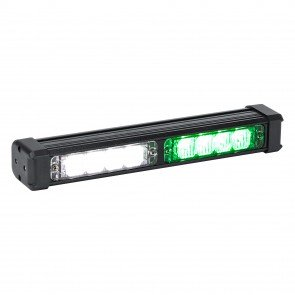 "SolarBlast 11"" 8W Deck Light - Green / White"