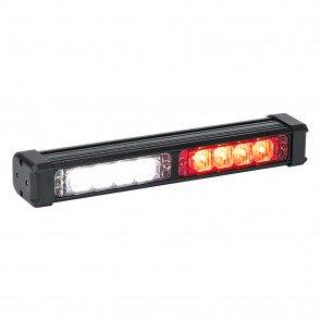 """SolarBlast 11"""" 8W Deck Light - Red / White"""