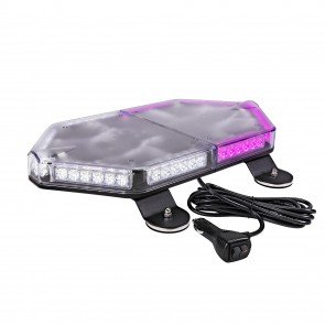 "NanoFlare 17"" 56W Mini Light Bar - Purple / White"