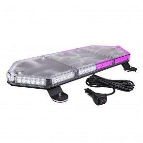 "NanoFlare 26"" 80W Mini Light Bar - Purple / White"