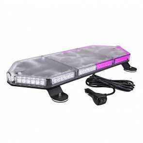 "NanoFlare 26"" 80W Mini Light Bar - Purple / White"