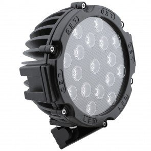 "7"" 51W LED Round Work Light - Spot"