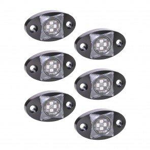 6pc StarDust 12W LED Rock Light