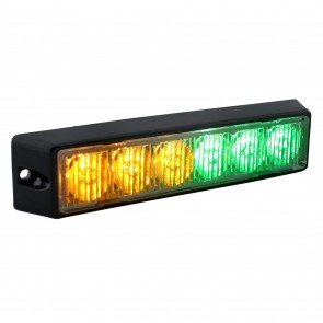 """SolarBlast 6"""" 6W Light Head - Amber / Green"""