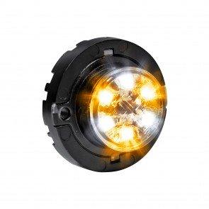 SnakeEye-III 6W Surface-Mount Hideaway Light - Amber / White